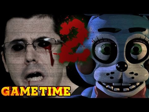 Five Nights At Freddy's 2 Terrifies Us (gametime W  Smosh Games) video