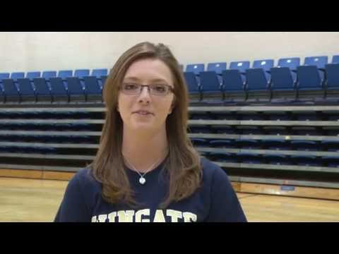 2014 Wingate Athletics Senior Tribute Video - WUSPYS