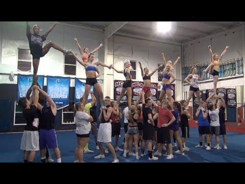 Cheer Extreme Coed Elite Practice Jan Part 2 Of 2