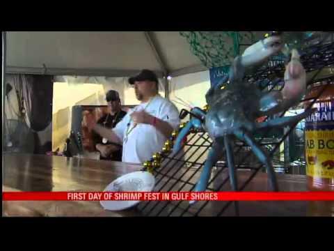 Shrimp Fest Starts in Gulf Shores