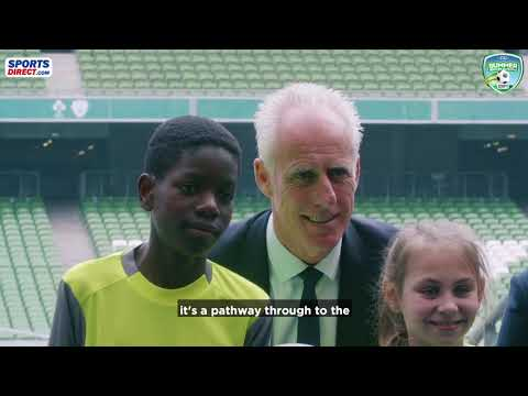 Sports Direct FAI Summer Soccer Schools Teaser Video
