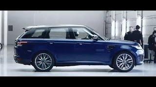 New 2015 Range Rover Sport SVR reveal promo