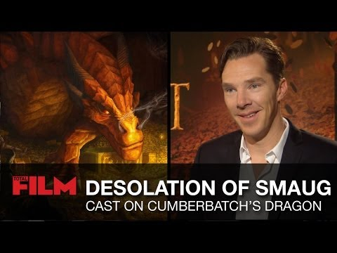 Peter Jackson & The Desolation Of Smaug cast talk Benedict Cumberbatch s dragon