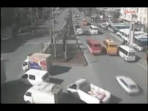 Mersin'de Trafik Kazaları Mobesede