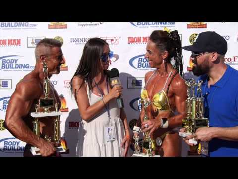 Muscle Beach Labor Day Highlights and Interviews Pt. 1
