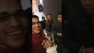 Going to watching movie with Malaysian friends.
