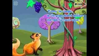 The Fox and the Grapes! Great Kids Book with a Moral