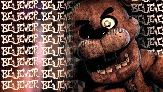 Download Lagu [SFM FNAF] BELIEVER - FNaF Animation of the Imagine Dragons Song Gratis STAFABAND
