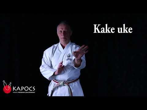 Karate Goju-ryu - Kake uke - Kapocs Sportprogram