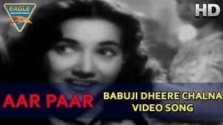 download lagu Aar Paar Movie  Babuji Dheere Chalna  Songs gratis