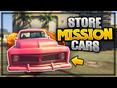 GTA 5 ONLINE - *NEW* HOW TO STORE MISSION VEHICLES!! [Patch 1.41] (GTA 5)