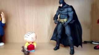 Stewie and Batman.