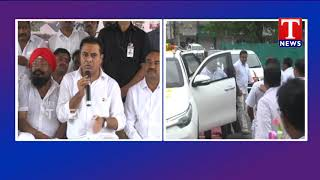 Minister KTR Speech | Slams Congress | Rahul Telangana Tour  Telugu