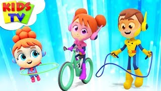 Exercise Song   The Supremes Cartoons   Children Songs & Learning Videos - Kids TV