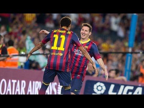 Barcelona  vs Real Sociedad (4-1) All Goals & Highlights 24.09.2013