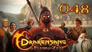 Let's Play Drakensang: Am Fluss der Zeit #048 - Eisentitte und Krokoschergen [720p] [deutsch]