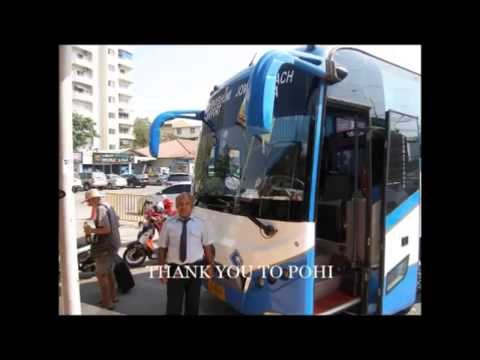 Bus from Jomtien to Bangkok Airport