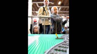 LEGO World 2011 Copenhagen Train Layout
