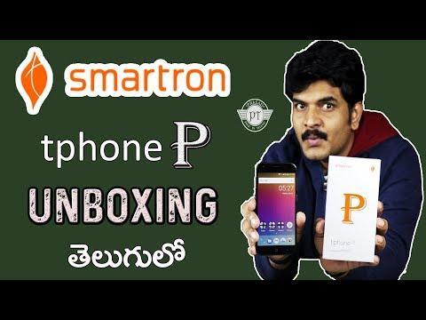 Smartron tphone P Unboxing & initial impressions ll in telugu ll