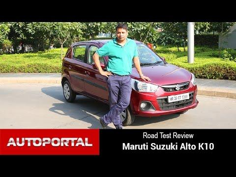 Maruti Alto K10 AMT Automatic Test Drive Review - Autoportal