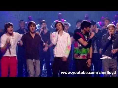 "X Factor Final 16 sing ""What A Feeling"" X Factor Final 2010 HQ/HD"