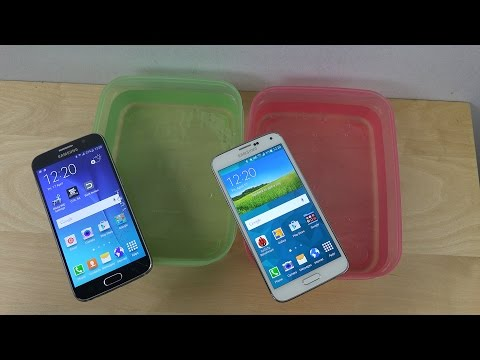 Samsung Galaxy S6 vs. Samsung Galaxy S5 - Water Test Will It Survive?