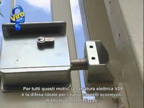 Cancelli Scorrevoli Serratura Elettrica V09 Versione