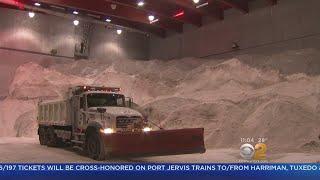 NYC Prepares As Snowstorm Bears Down