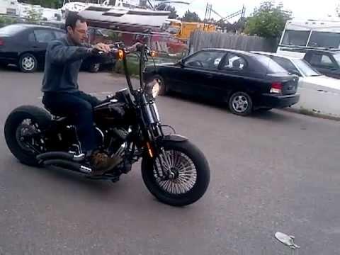 Harley FLSTSB Crossbones fender removal