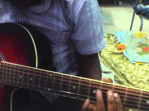 Chali Chaliga Allinid(mr.perfect) Song On Guitar video