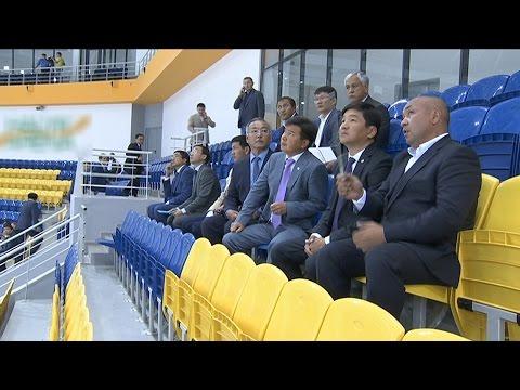 Аким Алматы проверил готовность Малой ледовой арены к Универсиаде-2017 (21.07.16)
