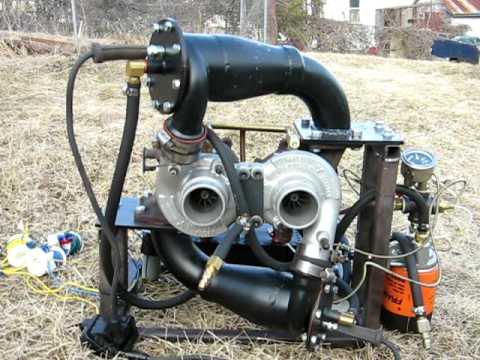 Twin Turbo Jet Engine Walk Around