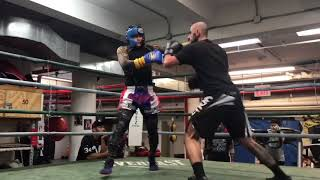 Mad Man in Mendez Boxing Gym