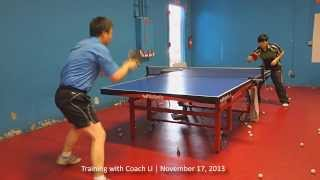 Training with Coach Li: Forehand and Backhand Switch/Continuity