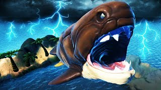 LEVEL 650+ Fish ESCAPES the OCEAN! - Feed and Grow Fish Gameplay