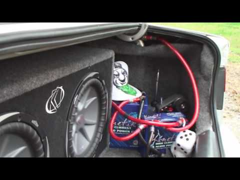Kicker Subs LOUD BASS