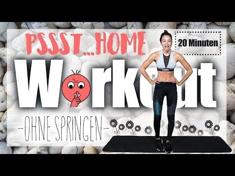 Workout ohne Springen - schnelle Erfolge ohne Gym ! - 20 Min HIIT - Fett schnell schmelzen lassen