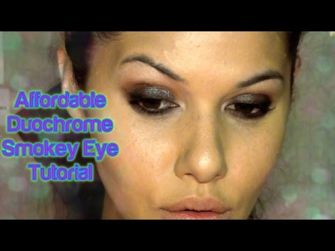 Affordable Duochrome Smokey Eye Tutorial