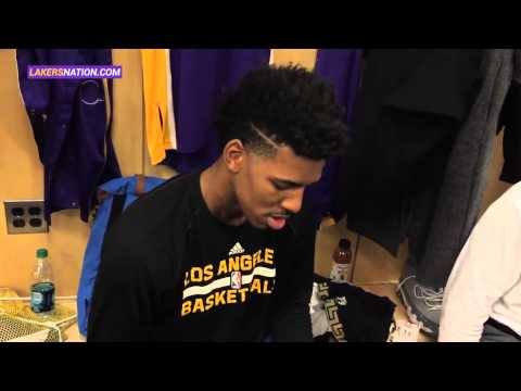Nick Young COMEDY: Behind The Scenes With The Lakers