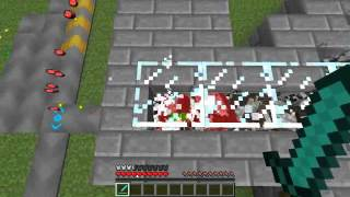 Minecraft - Cow farm with PowerCraft
