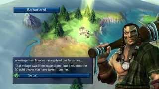 Let's Play Sid Meier's Civilization Revolution Deity German Domination (1-4)