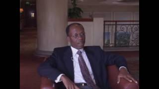 Haiti Aristide Explique Son Enlevement Par La Caumunaute Internationale