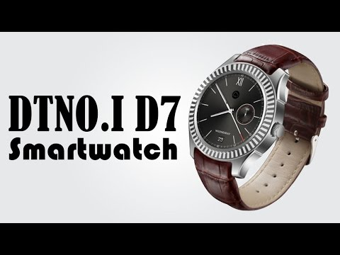 DTNO I D7 3G Smartwatch Phone - Heart Rate Measurement NFC IP65 Waterproof