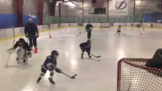 Declan Haas USA Hockey U6 Mites Tactical Skills Progression League at Xtra Ice, Tampa, FL