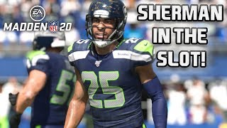 Richard Sherman is a Slot Corner? Madden 20 MUT Squads