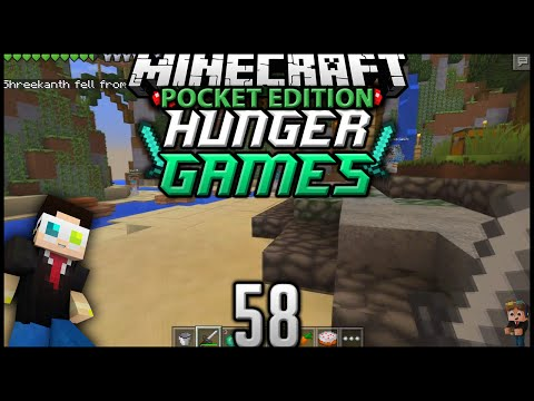 Minecraft: Pocket Edition Hunger Games - Episode 58 - New Map: Breeze Island 2