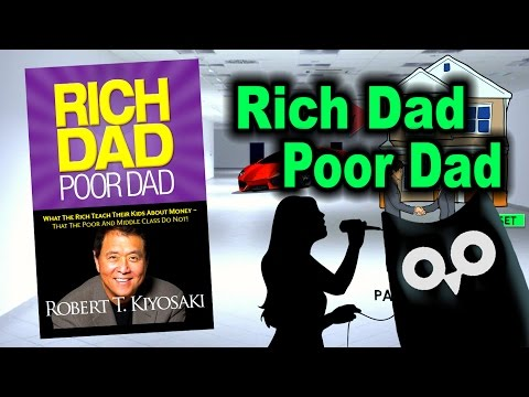 PASSIVE INCOME IDEAS - Rich Dad Poor Dad by Robert Kiyosaki ANIMATED BOOK REVIEW