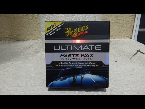 Meguiars Ultimate Paste Wax test review before and after results walk through. 1991 Honda Prelude si