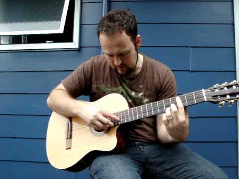 lenny Breau Harmonics mini lesson 4
