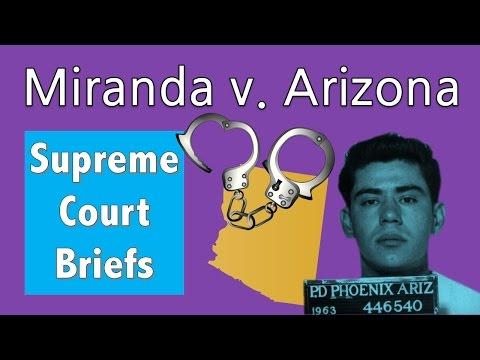 how has miranda v arizona changed